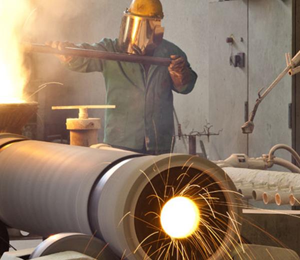 italian manufactury steel foundry