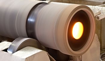production centrifuged steel tubes